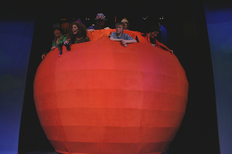 James and the giant peach stage revolve